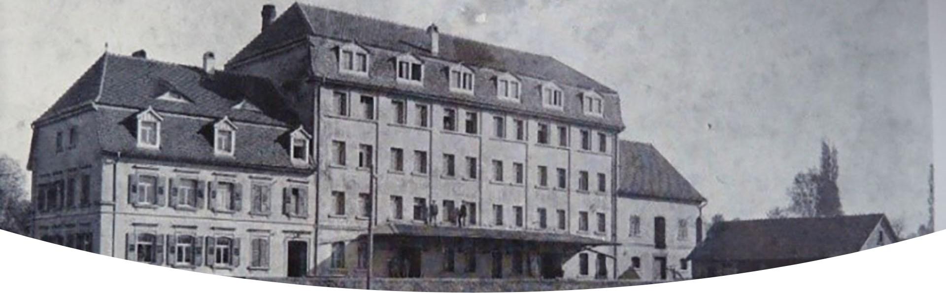 Gondelsheimer Heck-Mühle um 1910