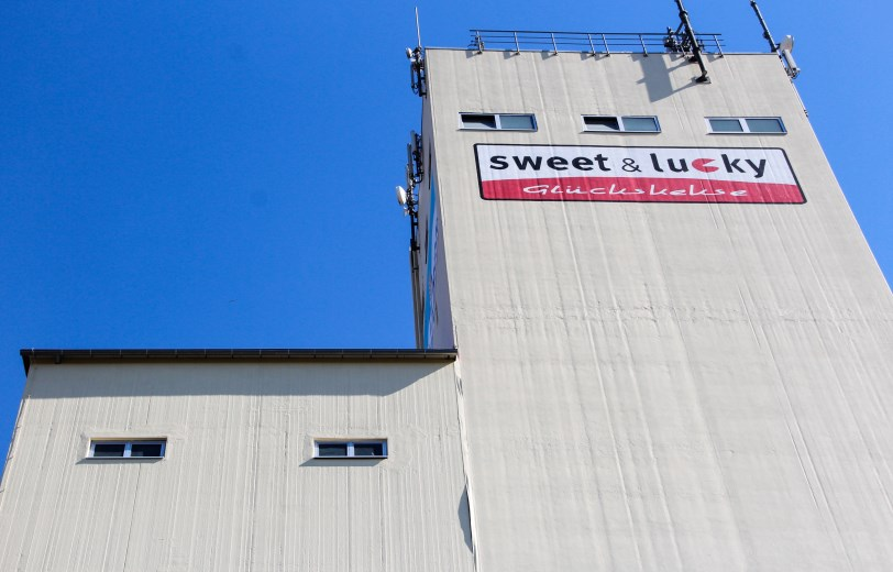 Grain silo filled with grain from Gondelsheim - Deutschland / Germany