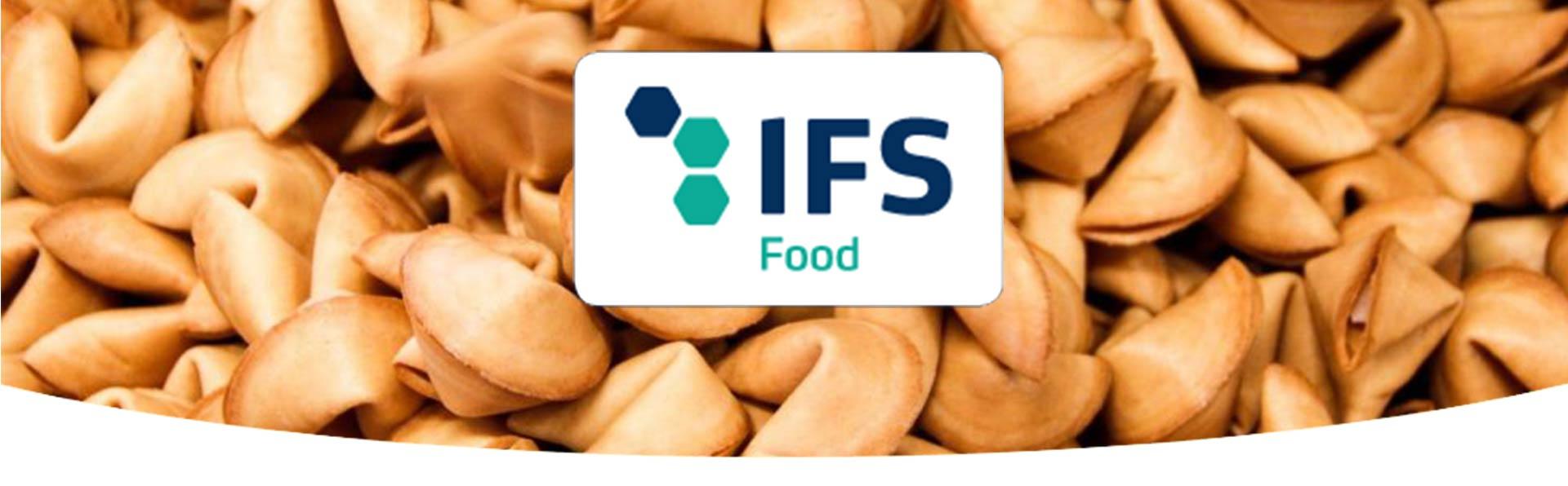 Glückskekse und IFS-Logo