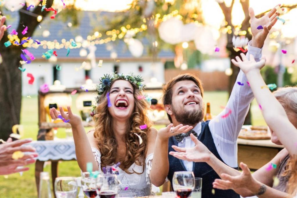 Tag des Glückskekses Hochzeit