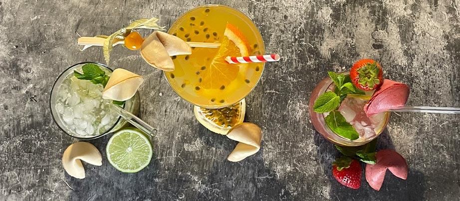 Cocktails Glücksmomente