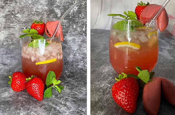 Cocktail Erdbeer-Glücksmoment