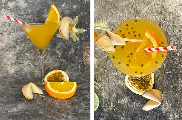 Cocktail Maracuja Glücksmoment
